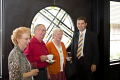 Anne's sister, Kevin Knox, Anne Boyd, Nick Wakeling, Official Opening of St John the Baptist Parish Primary School Hall